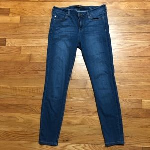 Liverpool Mid Rise Ankle Skinny